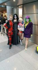 Hanging out with Deadpool (Betty Nukem Cosplay) and Lady Death